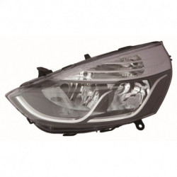FARO IZQ CON REGULACION ELECTRICA CON MOTOR INTERIOR CROMADO H7/H1